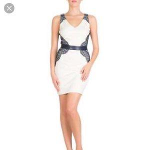 Guess Women's Dress Belted Sheath Dress